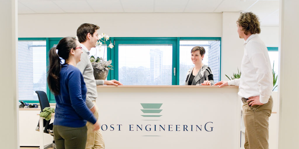 Cost Engineers at desk